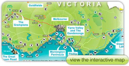 Eastern Australia Tourism victoria Tourism and Melbourne