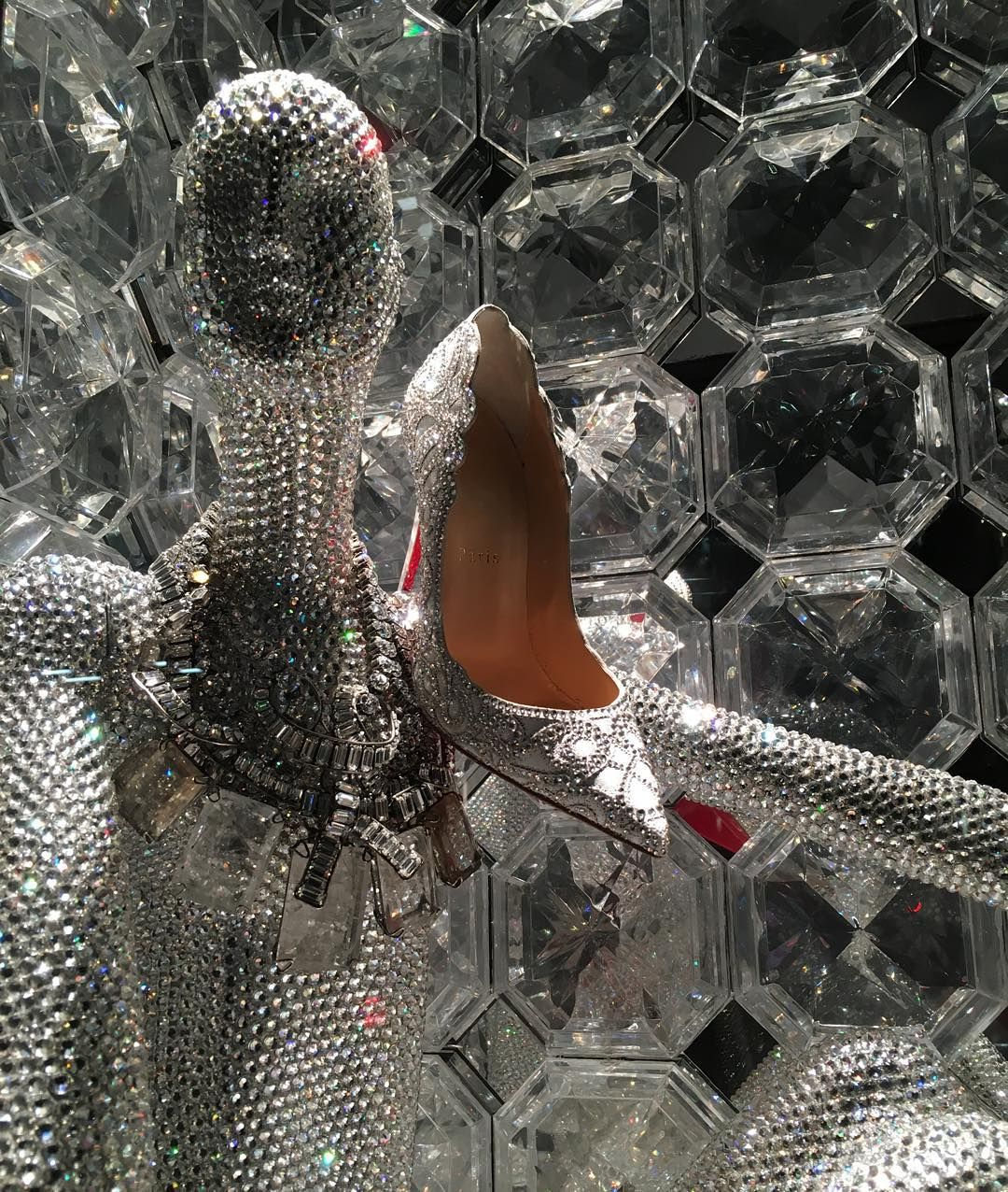 Maniqui Escaparate Bergdorf Goodman New York Quotclose Up Mannequin Louboutin