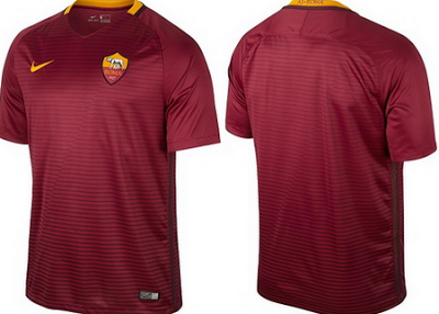 b756c0fa02ed4 camisetas de futbol online 2018  Camisetas de futbol As Roma 2017 baratas