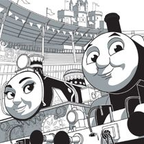 Coloring Page The Great Race Thomas