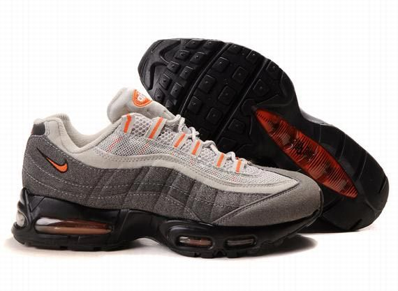 Buy Nike Air Max 95 Mens Trainers White Grey Black Orange Cheap To Buy from  Reliable Nike Air Max 95 Mens Trainers White Grey Black Orange Cheap To Buy  ...
