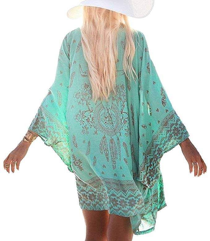 93d53fa2dcec RESORT WEAR!!! Gorgeous cover up for your next all inclusive vacation! Cruise  wear! Chalier Womens Chiffon Bathing Suit Swimwear Bikini Swimsuit Beach  Wear ...
