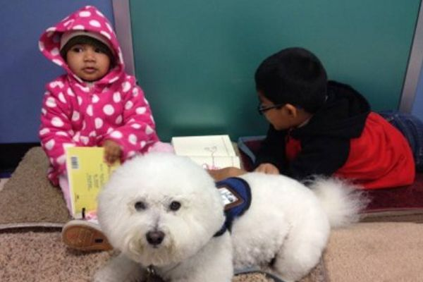 PAWS For Reading Brookside Library Tulsa, OK #Kids #Events