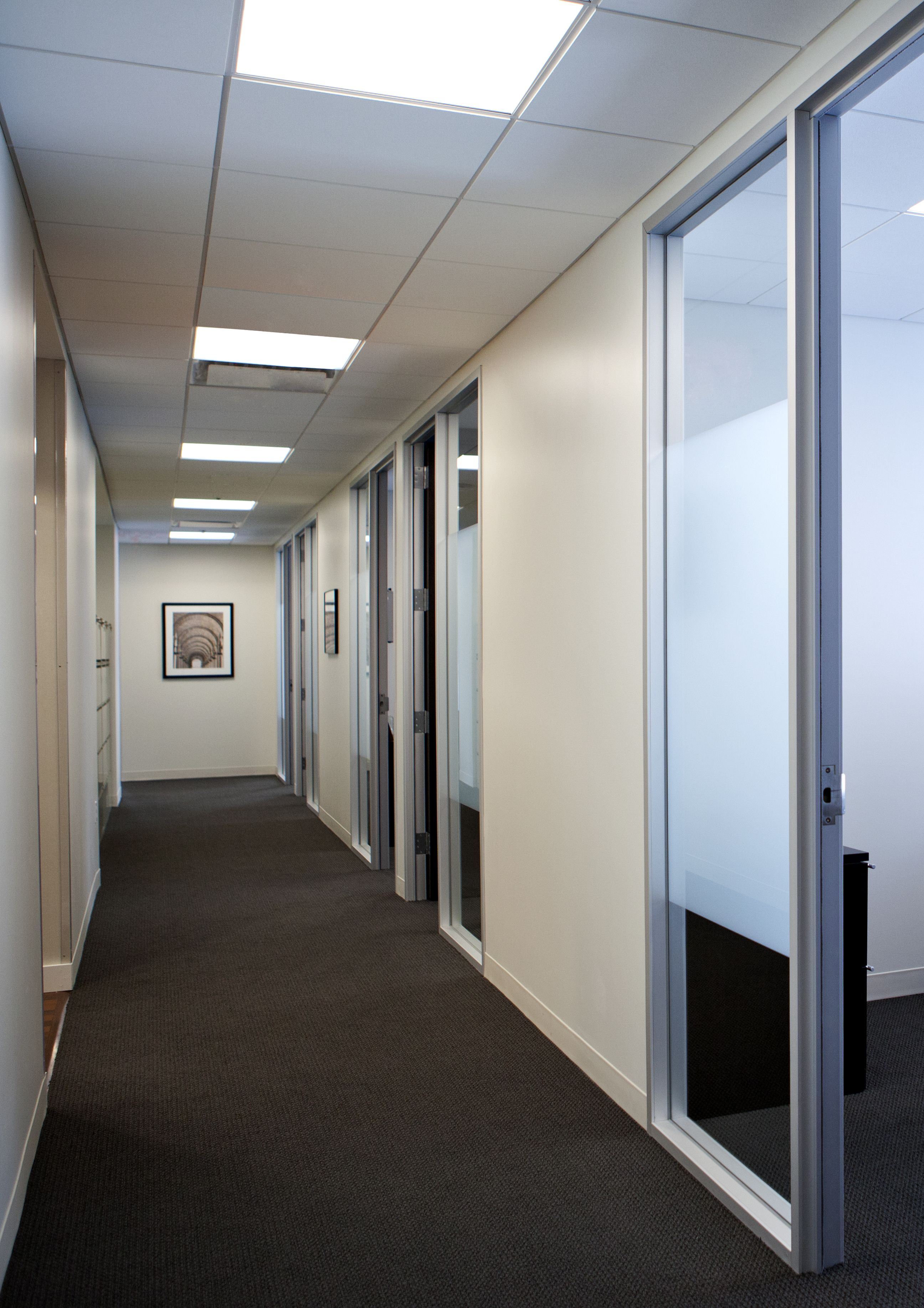 United Capital Bethesda Md Aluminum Frame With Stain
