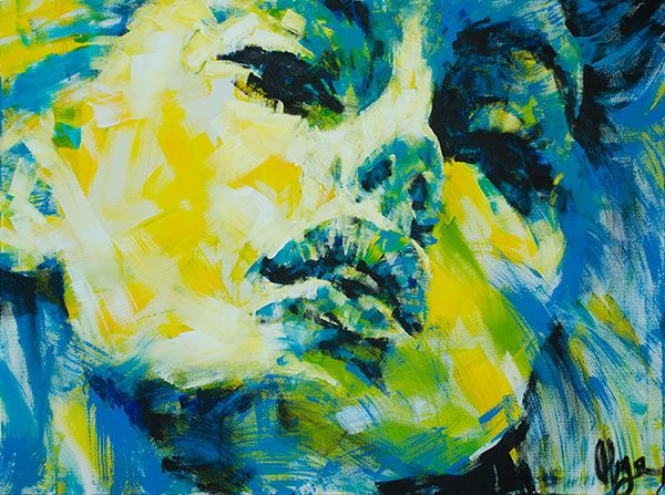 abstract art black and white faces - Google Search | Art ...