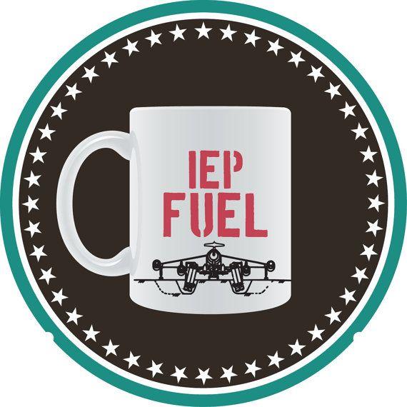 IEP Fuel Coffee Mug by ViaPerception on Etsy, $15.99