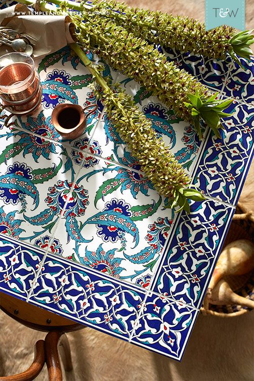 Tile Your Own Table With Stylist Emmaly Stewart Diy Tile Tile Tables Patio Tiles