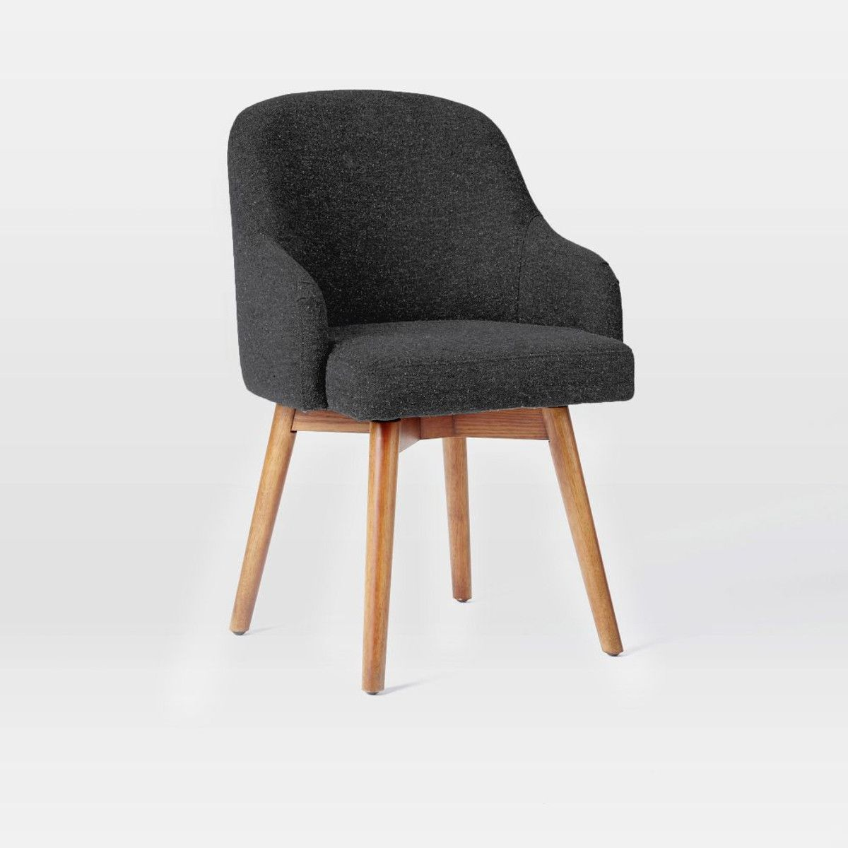 saddle office chair. A Nod To Mid-century Design, Our Swivel-seated Saddle Office Chair Is Updated With Modern Form Add Level Of Comfort Classic, Clean Aesthetic. O