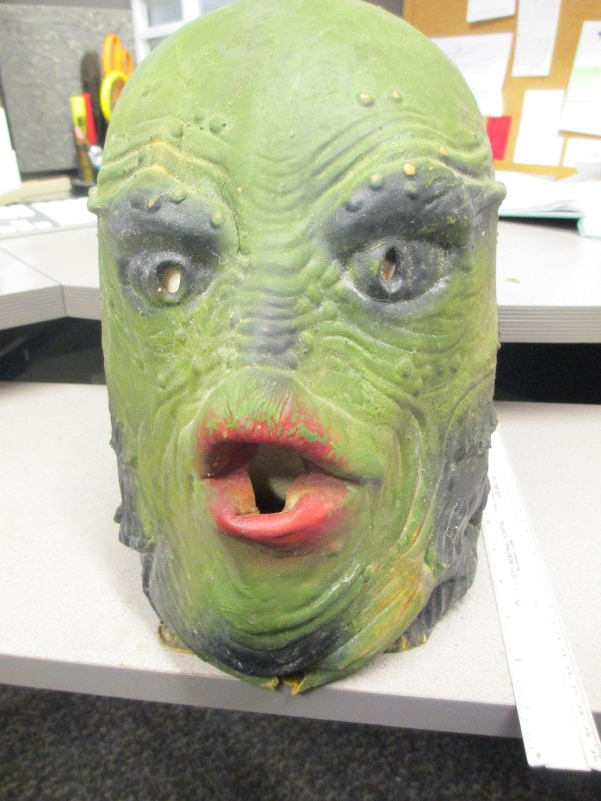 halloween mask CREATURE FROM THE BLACK LAGOON Universal monster ...