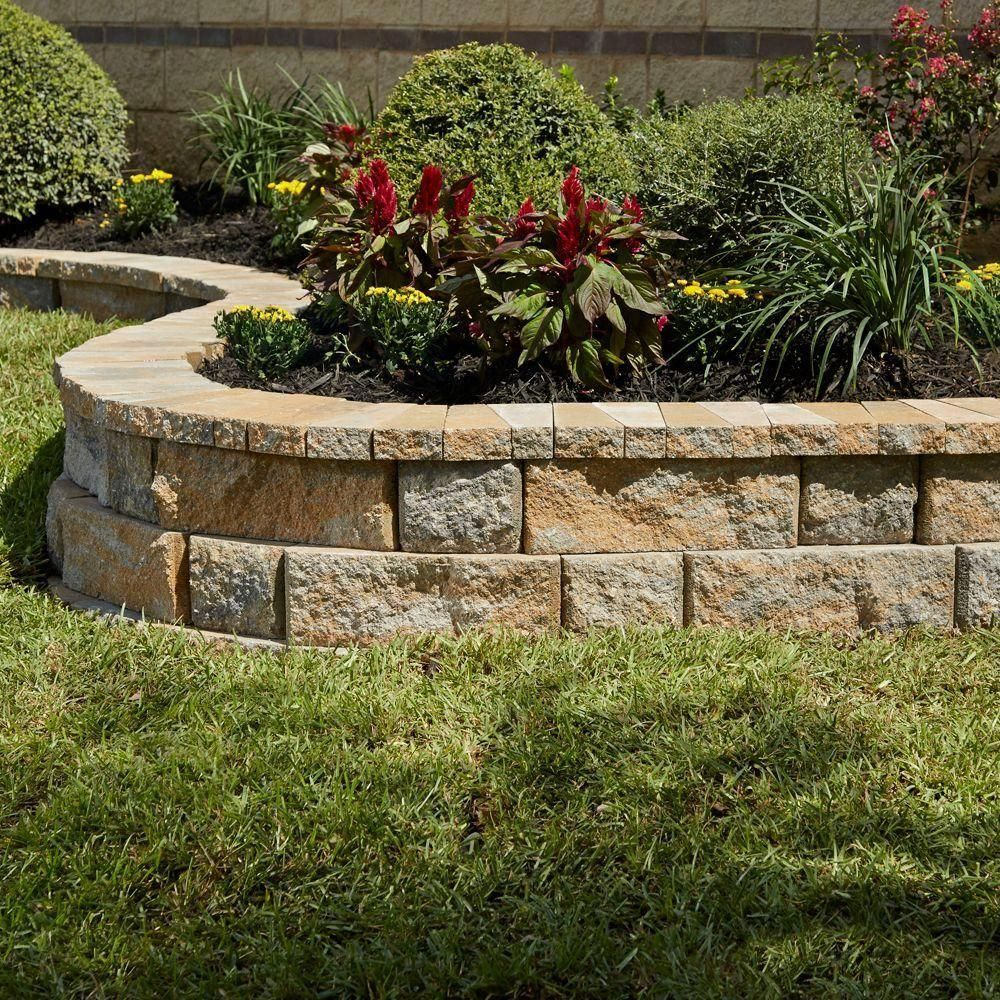 Pin By Rocks And Boulders By Bob On Flower Bed Landscaping In 2020 Backyard Landscaping Backyard Landscaping Designs Concrete Garden