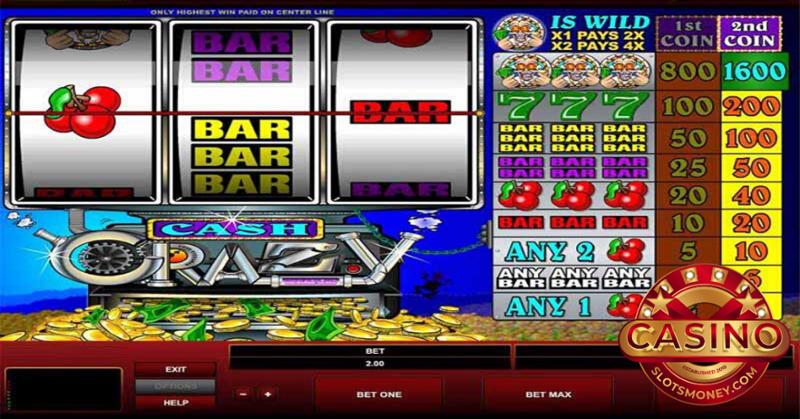 Crazy Money Slots Online
