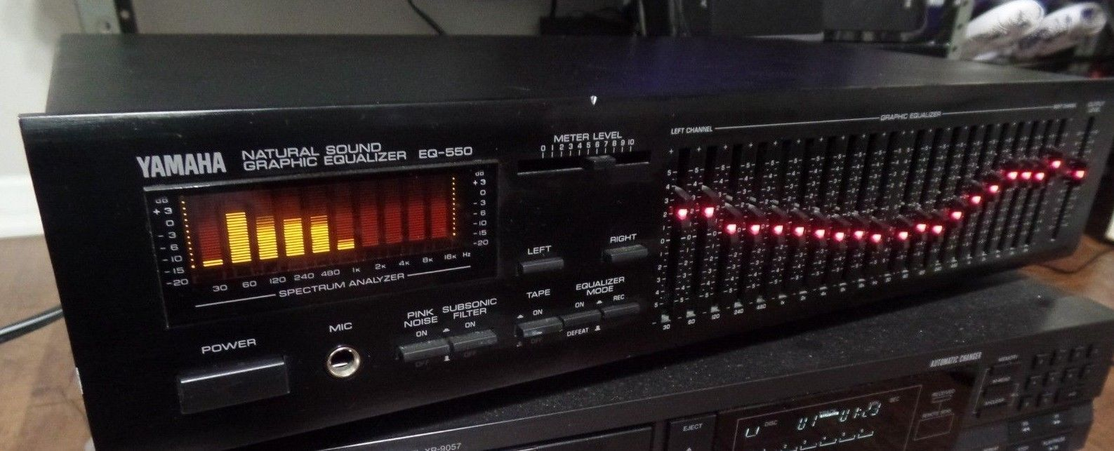 Details about YAMAHA EQ-550 NATURAL SOUND GRAPHIC EQUALIZER in 2019
