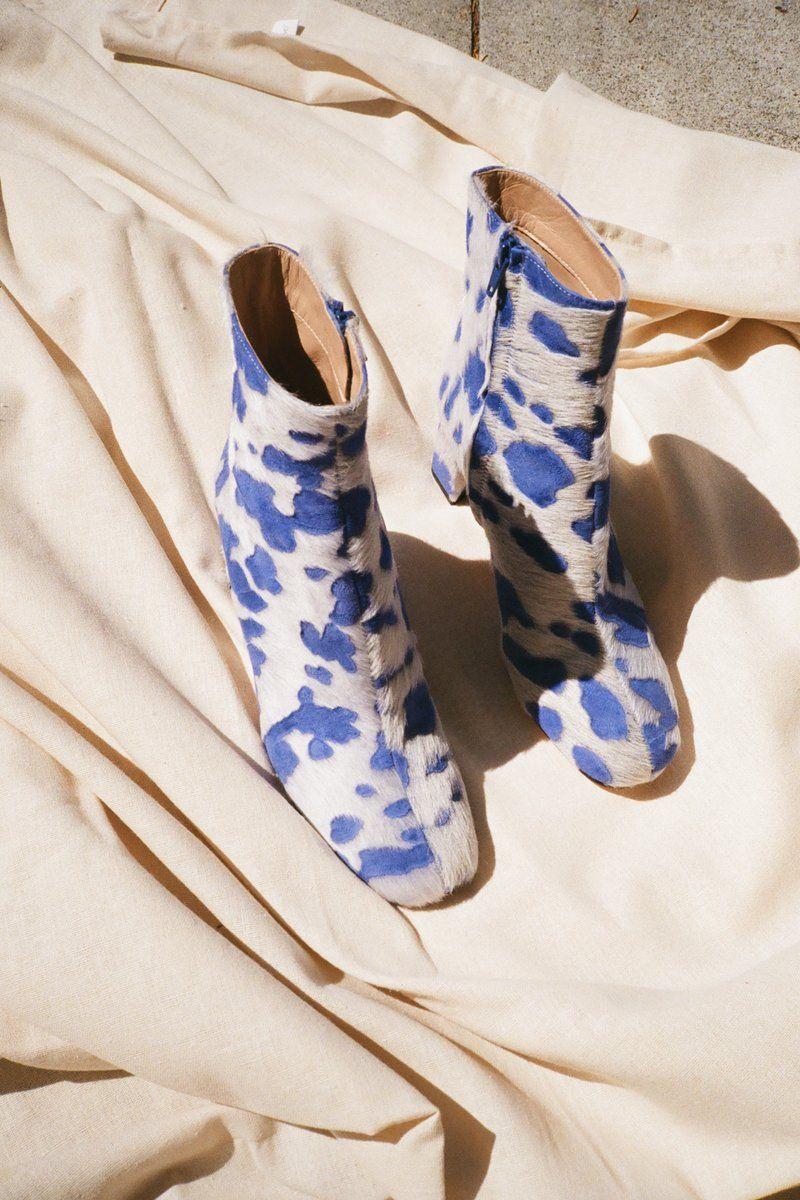 Agnes Boots Lapis Boots Shoes Cute Shoes