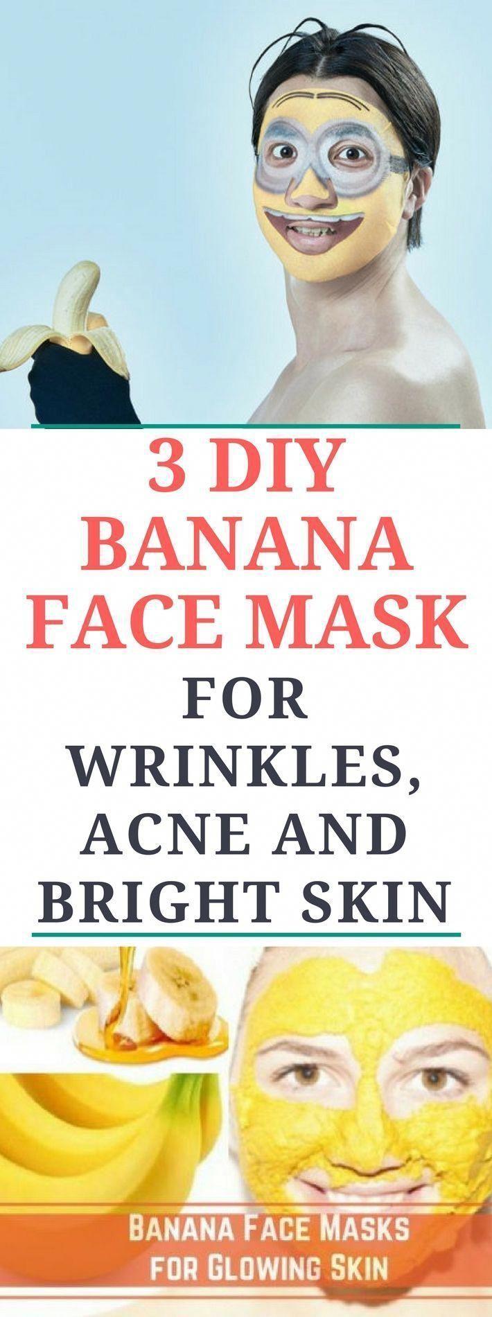 Photo of #Acne #Banana #Bright #DIY #Face #face mask for pores homema…
