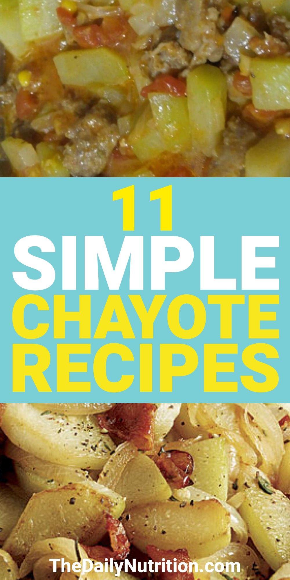 Chayote Recipes: 11 Chayote Squash Recipes That Yo