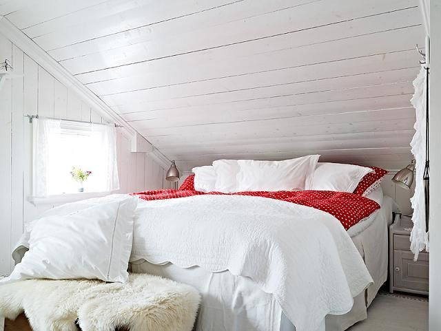 Bedroom Design Swedish Country Home Pinterest Chambre