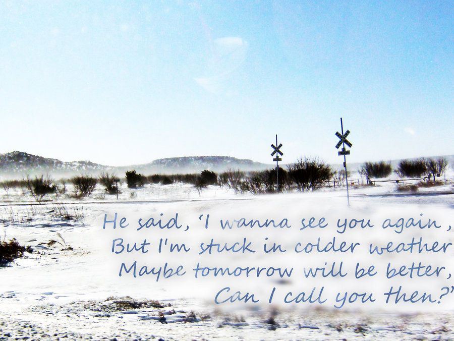 Colder weather by Zac Brown Band | Song lyrics | Pinterest | Zac ...
