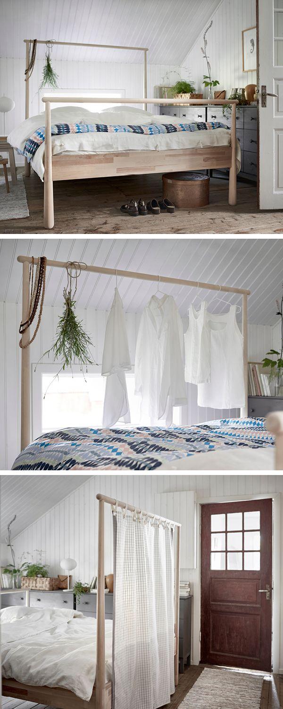 gj ra bed frame birch l nset ikea pinterest wg zimmer schlafzimmer und bett. Black Bedroom Furniture Sets. Home Design Ideas