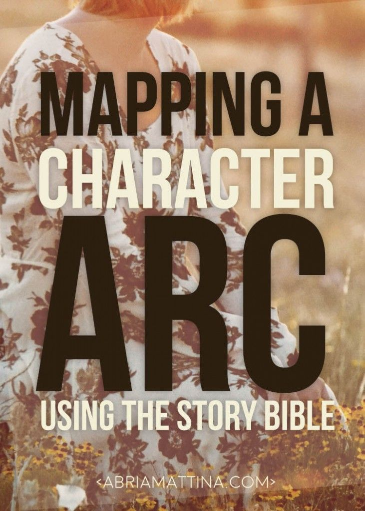 Mapping a Character Arc using the Story Bible