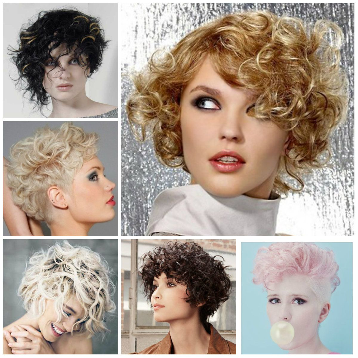 Trendy Short Haircuts for Curly Hair 2016 | Haircuts, Hairstyles 2016 and  Hair colors for short long m… | Long face haircuts, Long face hairstyles, Short  curly hair
