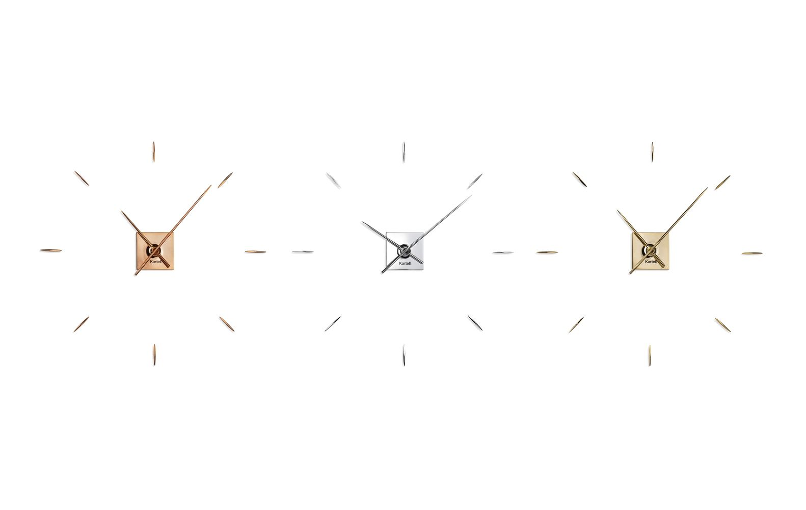 A Minimalist Clock by Philippe Starck