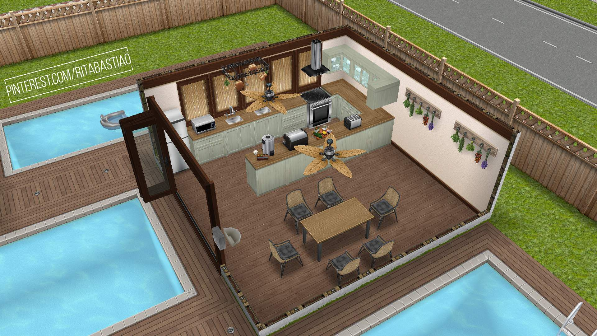 Verdieping Sims Freeplay Rita Bastião You Saved To House Of Three Houses 2 In Sims