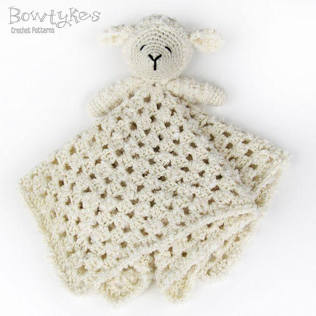 Little Lamb Lovey pattern by Briana Olsen | Ganchillo, Plantas y Tejido