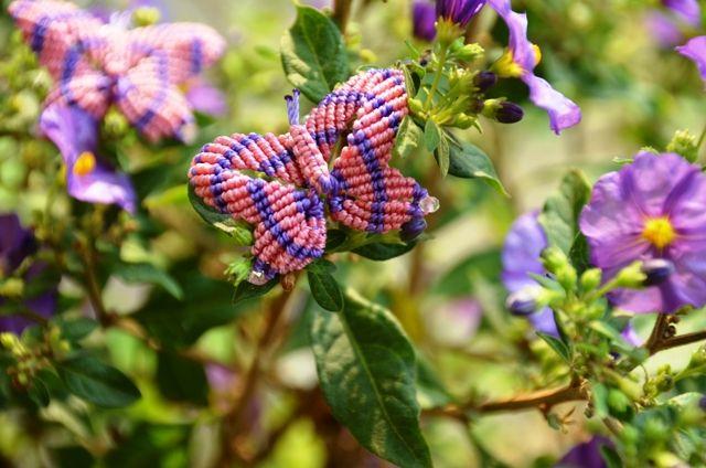 La Cesta dei lavori di Loredana  -  Una coppia di farfalline!