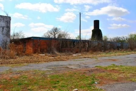 Colony Public School Abandoned Oklahoma Located On The