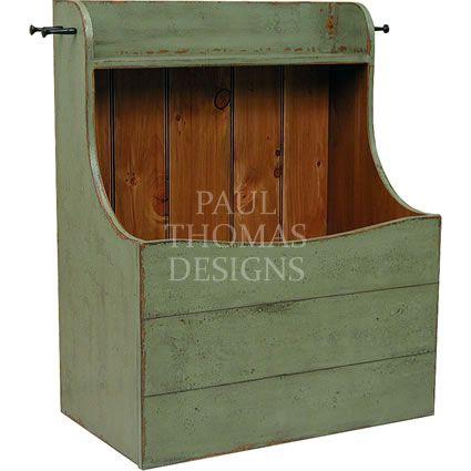 Shaker Firewood Box Wood Storage Box Firewood Storage Indoor Wood Storage