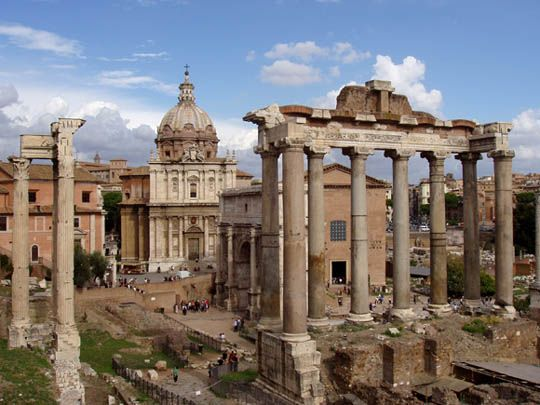 A Funny Thing Happened on the Way to the Forum (1966) - The real Roman forum