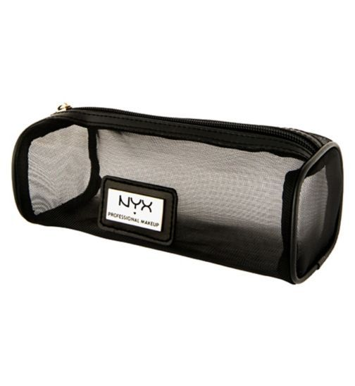 Nyx Professional Makeup Makeup Bag Mesh Zipper Boots Bags Nyx Leather Pouch