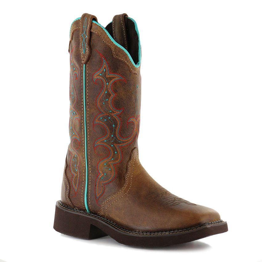 48203944370 Justin Gypsy Women's Square Toe Western Boots | Boots and boots ...