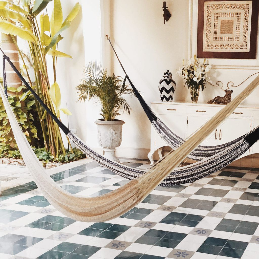Santa rosa hammock white furnishings pinterest hanging chair
