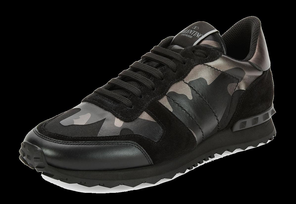 sneakers, Valentino camo sneakers