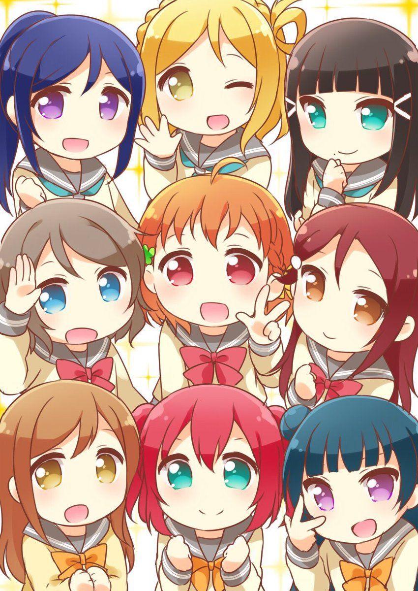 Love Live Sunshine Anime Love Friend Anime Anime