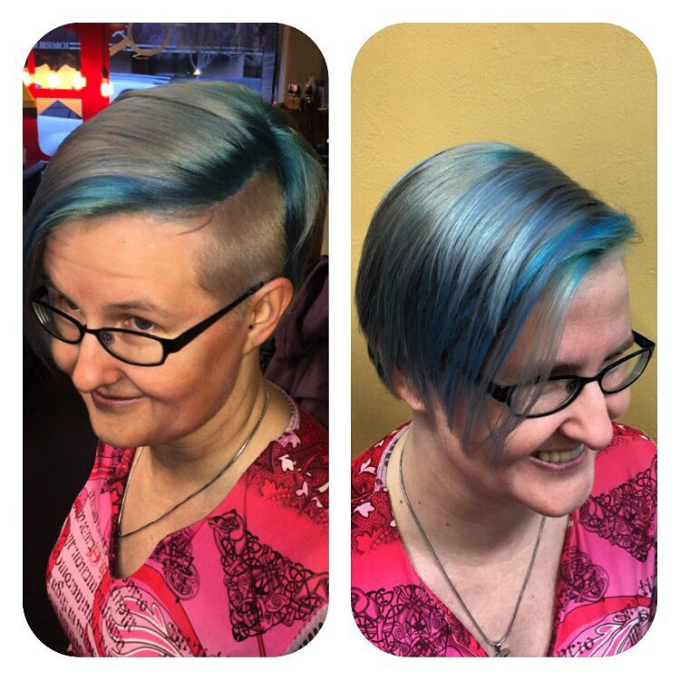 Privana and Joico colors together to make this beautiful