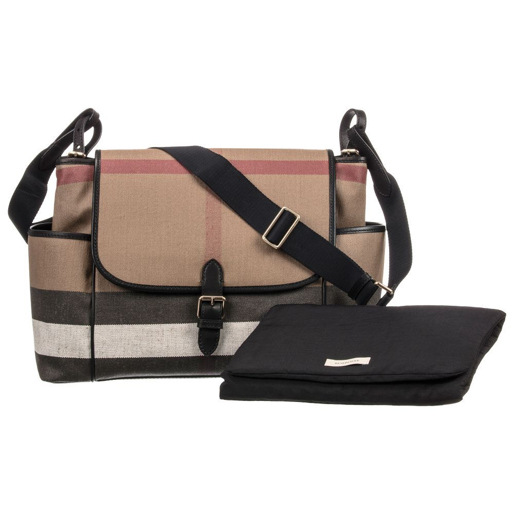 11ad92c1ab Burberry Canvas Baby Changing Bag (40cm).