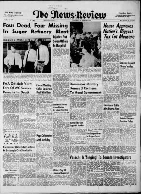The News-Review from Roseburg, Oregon on September 26, 1963 · Page 1