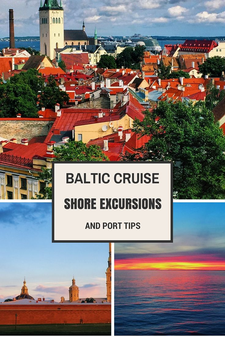 Baltic Sea Cruise Shore Excursions & Port Tips ~ World On A Whim #baltic