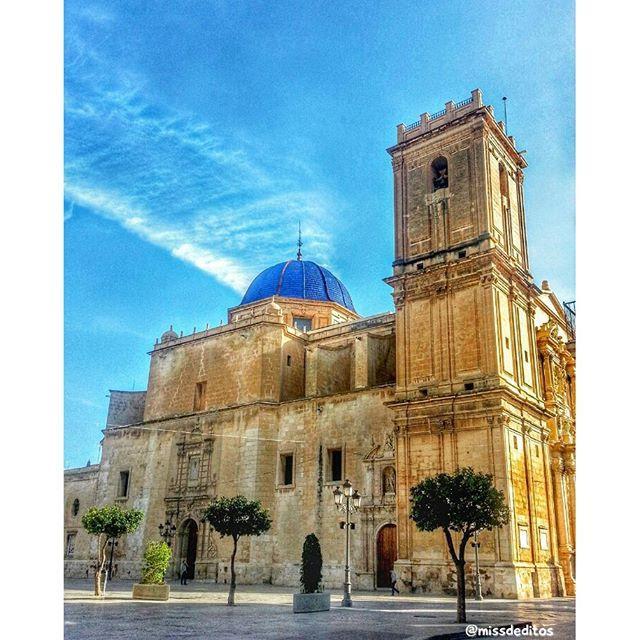 Basílica de Santa María Elche (Alicante) #Elche #visitelche #costablanca #tradition