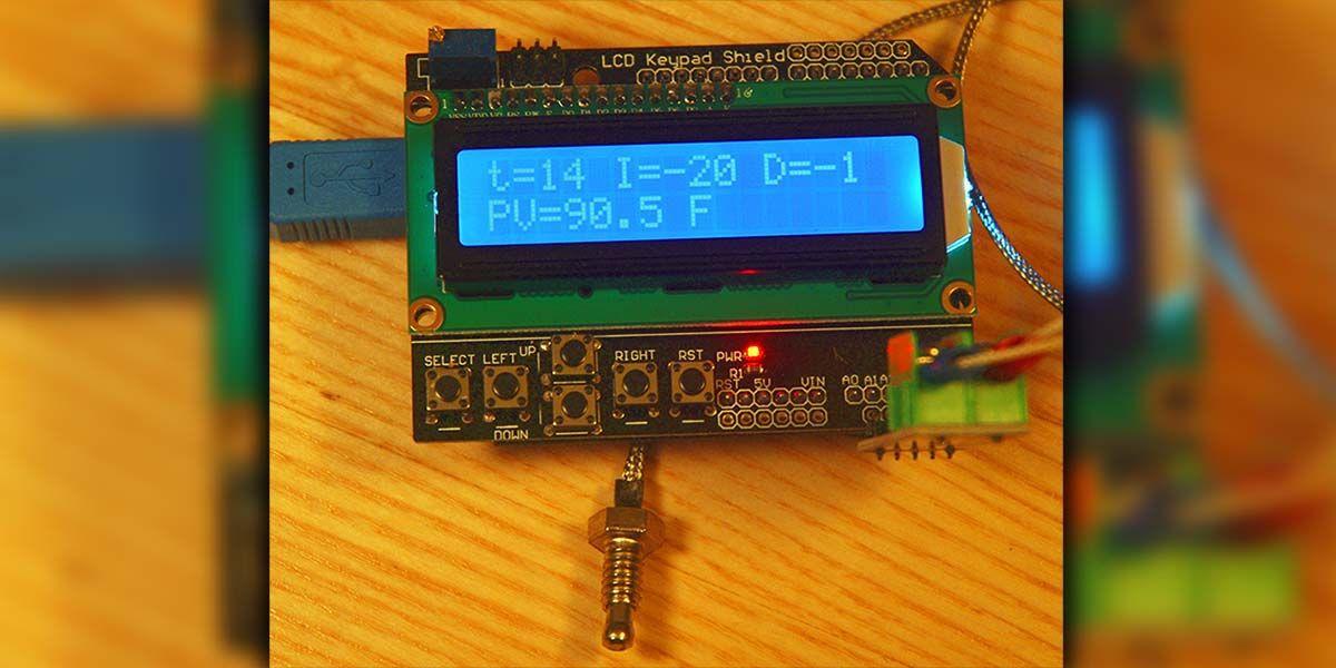 Arduino Pid Temperature Control Arduino Process Control Temperature Control