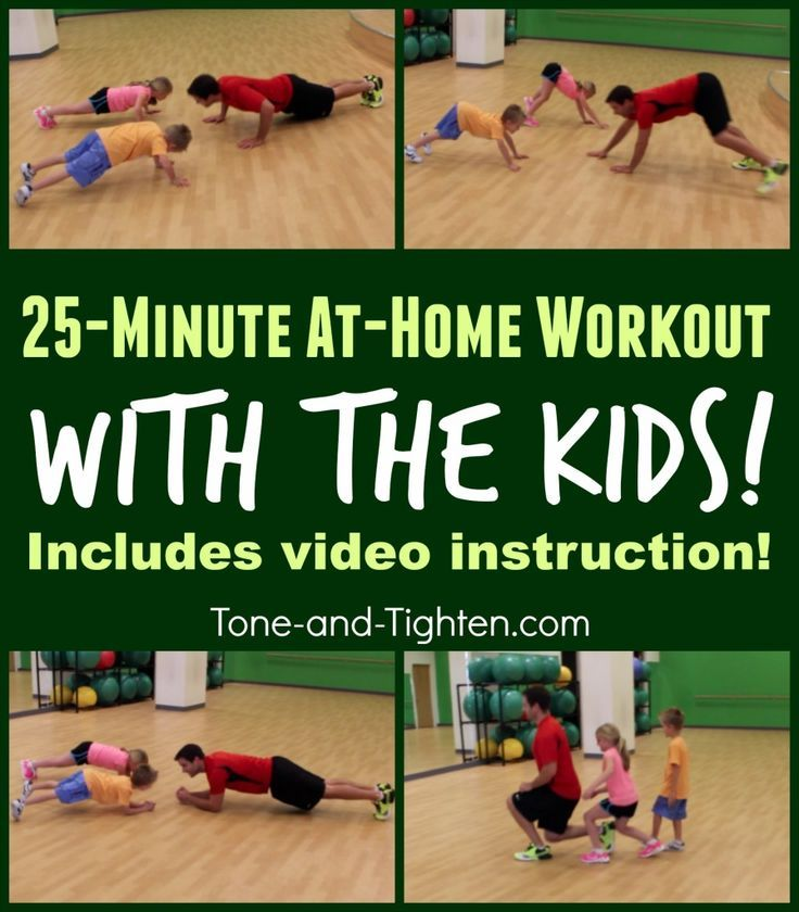 Real Fitness For Real People Exercise For Kids At Home Workouts Kids Health