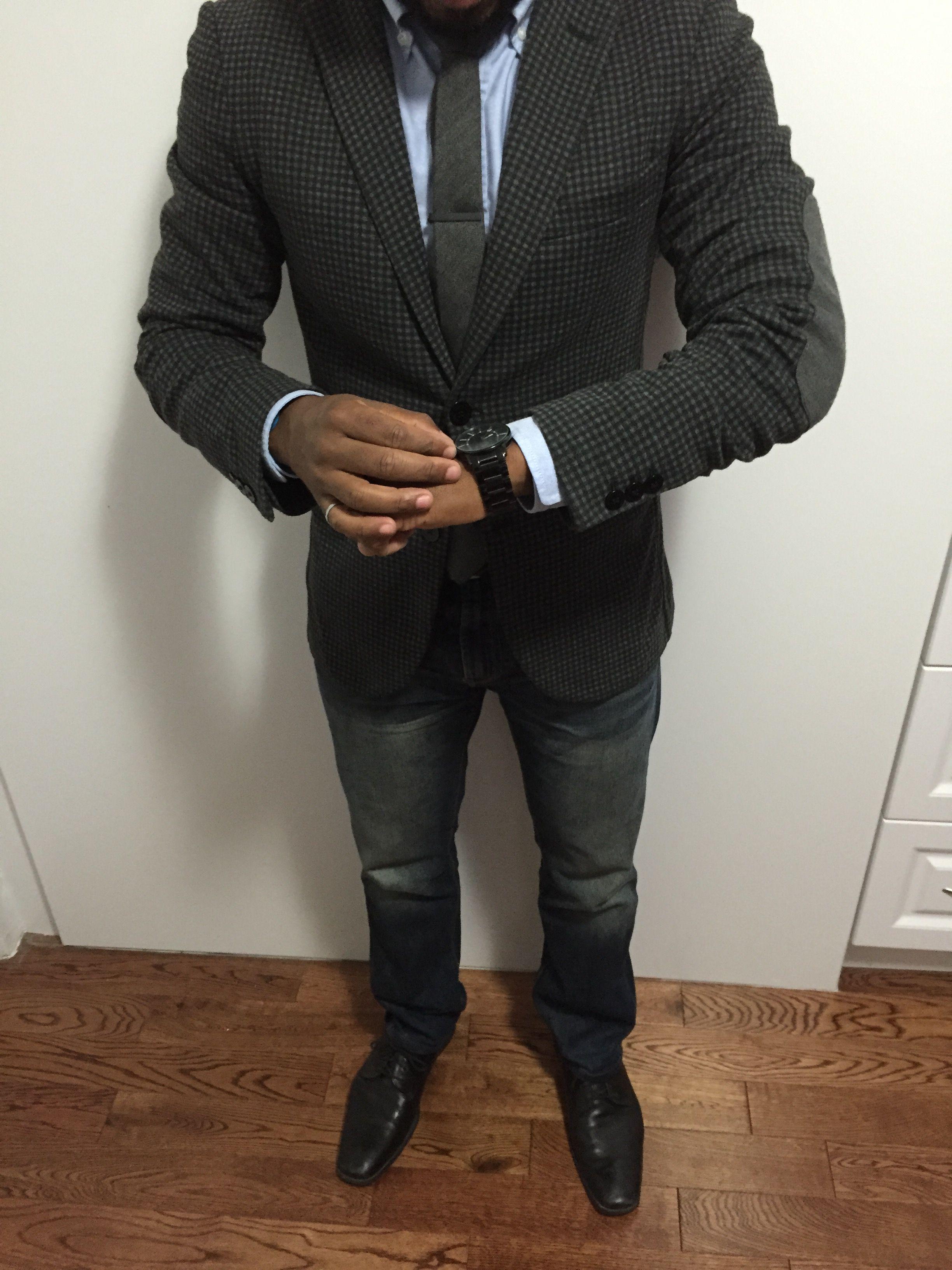 street style men fashion Men's fashion grey Blazer