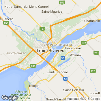 three rivers canada map Trois Rivieres Quebec Canada Trois Rivieres Three Rivers