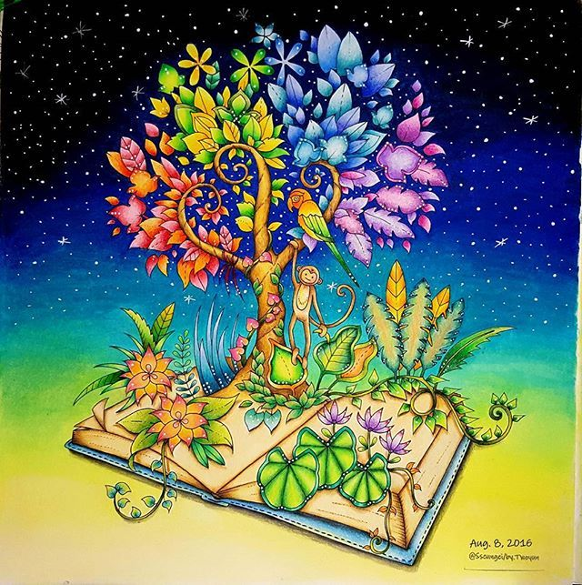 Johannabasford Magicaljungle Adultcoloring
