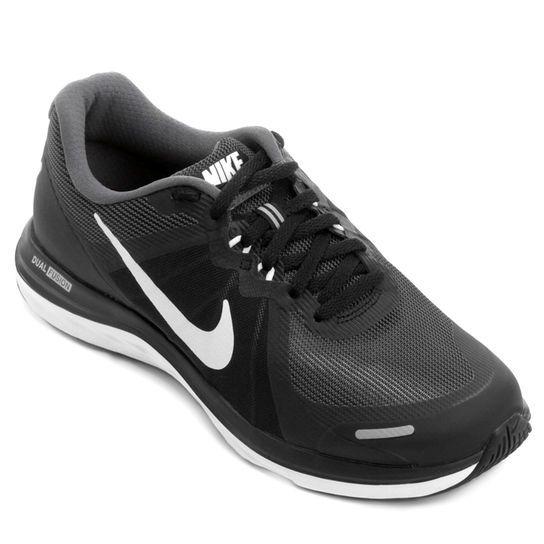 f9718692d9 Tênis Nike Dual Fusion X 2 - Preto+Branco
