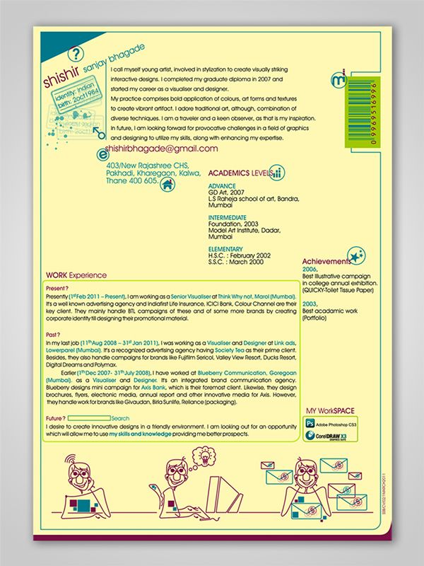 resume design on behance inspiring ideas pinterest interview