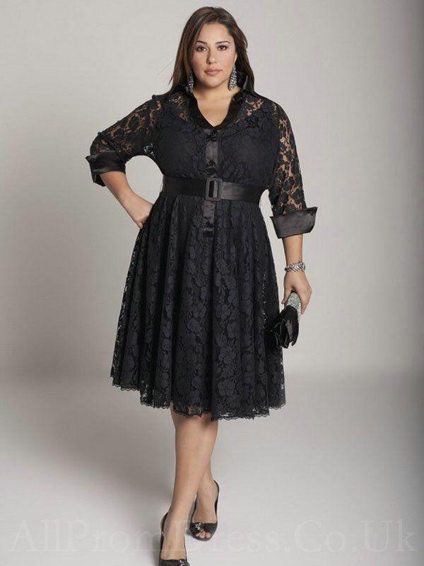 Long Sleeve Plus Size Dresses Big Size Long Dresses for Beautiful ...