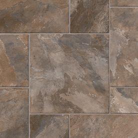 Ivc 13 1 8 Ft W Rocky Tile Finish Sheet Vinyl Flooring Tile Wallpaper Cushioned Vinyl Flooring